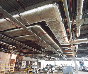 Insulated-ducting
